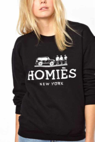 sweater homies new york city swag