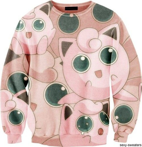 pokemon sweater jigglypuff