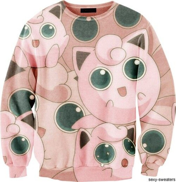sweater jigglypuff pokemon