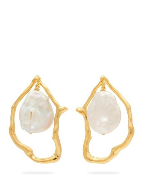 Lizzie Fortunato - Formation Pearl Drop Earrings - Womens - Pearl