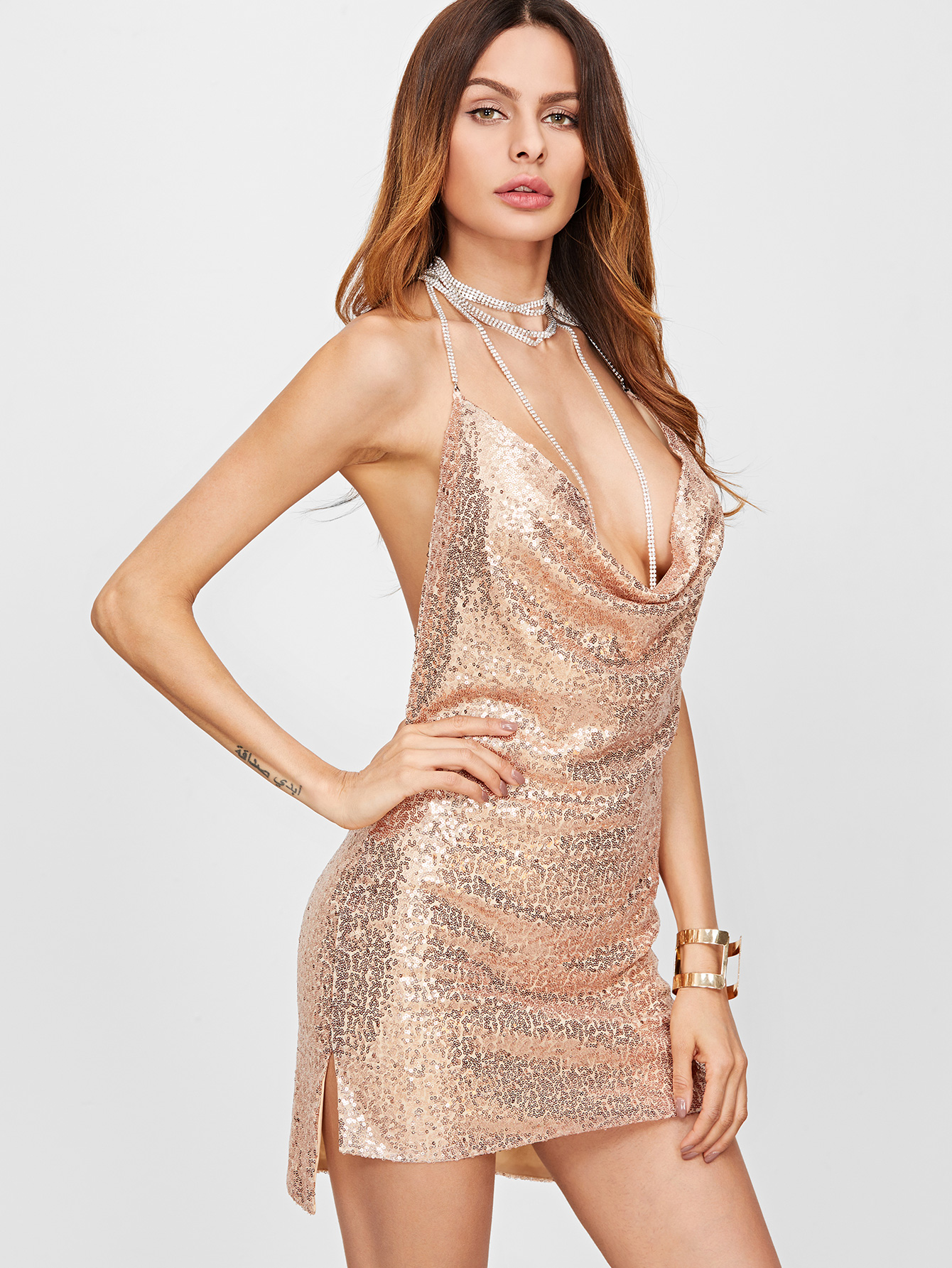 Sequin Sexy dresses pictures exclusive photo