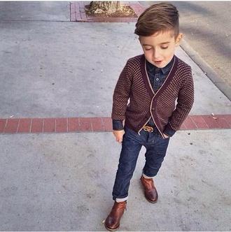 cardigan guys toddler kids fashion boots gucci gucci belt swag fashion alonso