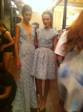 dress,mb fashion week sydney,jewels