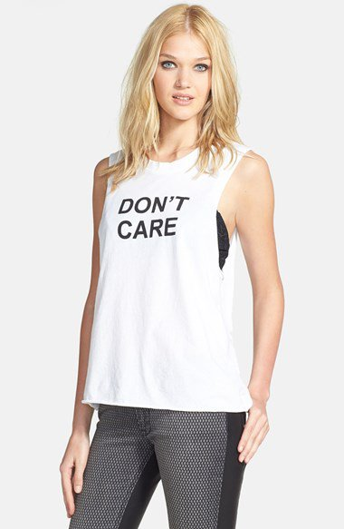 Bmla 'don't care' muscle tank