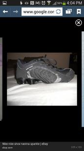shoes,grey,shimmery,nike shox,bling