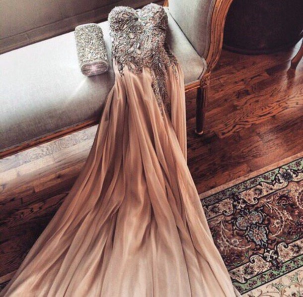 dress prom dress gown beaded long dress homecoming prom long prom dress sequins dress cute dress banquet prom beauty
