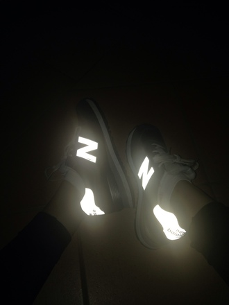 new nike new balance balance shoes nb glow in the dark pink in the dark cute white converse