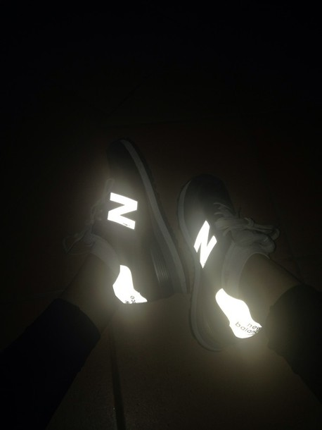 new nike new balance balance shoes nb glow in the dark glow in the dark elle may blogger