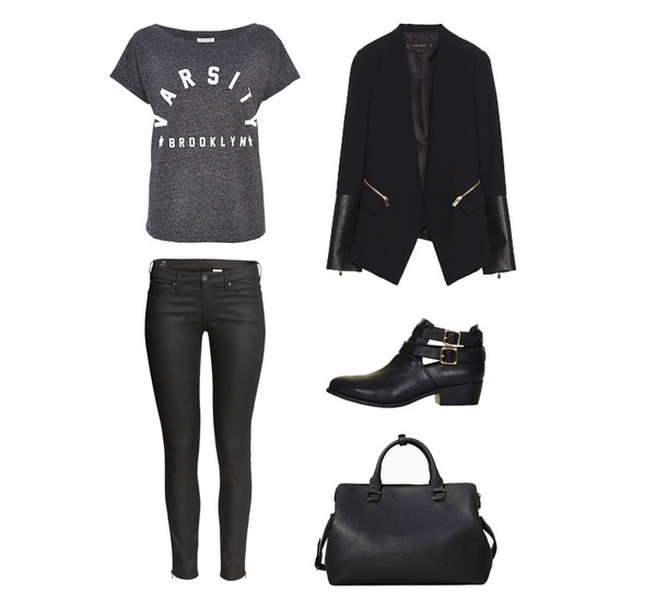 koko luxe jeans jacket t-shirt shoes bag shirt