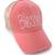 Coral Blessed Trucker Hat