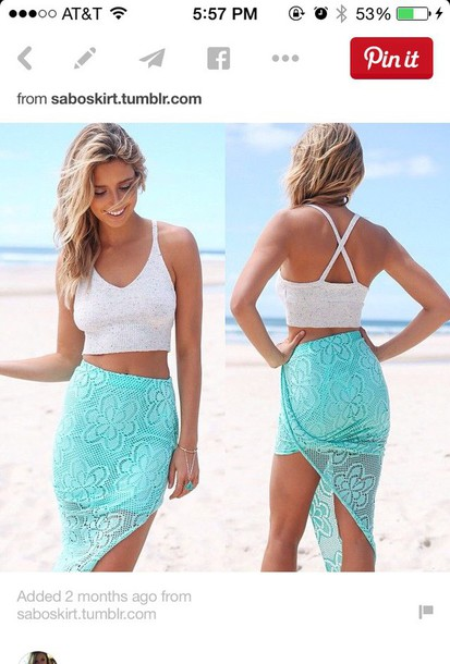 skirt skirt swimsuit cover up