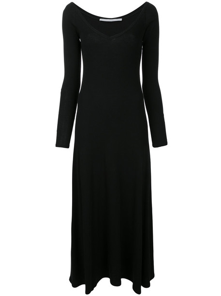 dress maxi dress maxi women cotton black