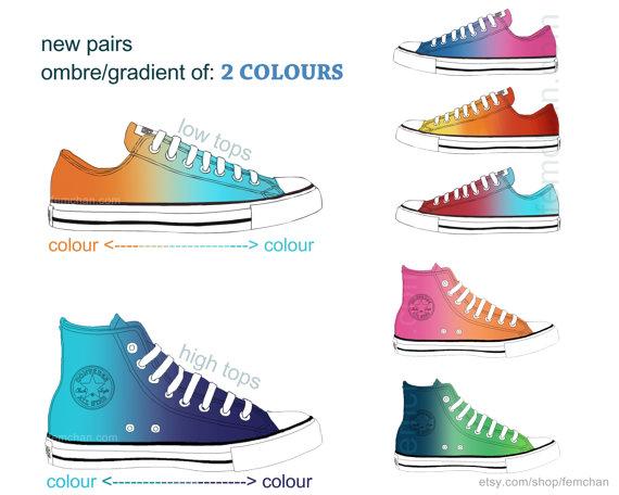 converse 2 couleurs