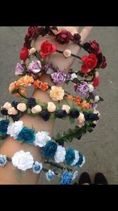 hair accessory,accessories,Accessory,hair,hairstyles,hair clip,hair bow,tumblr,festival,summer,floral,flowers