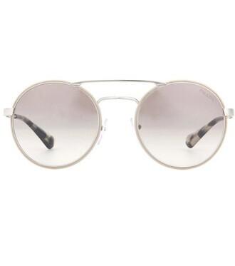 sunglasses round sunglasses white
