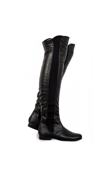 Cadin over the knee black boots