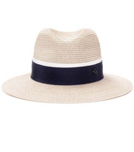 Maison Michel Henrietta straw hat in neutrals