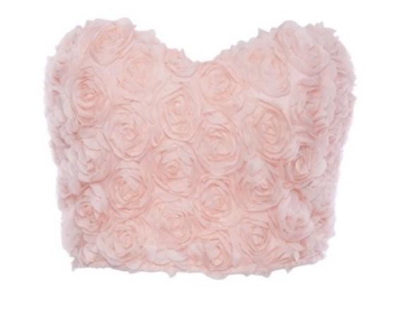 cute dress top crop tops roses pink pink dress homecoming dress prom dress