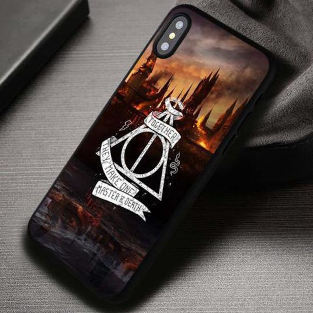 deathly hallows iphone 8 case