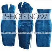 velvet,velvet dress,slit,blue dress,blue vevelt,v neck dress,style,holiday season,vegas,christina milian,new girl,new balance,birthday dress
