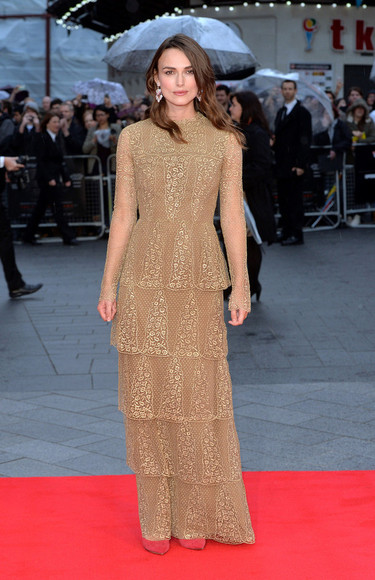 dress keira knightley lace dress maxi dress