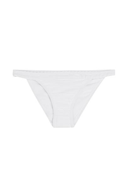 Heidi Klein bikini bikini bottoms high white swimwear