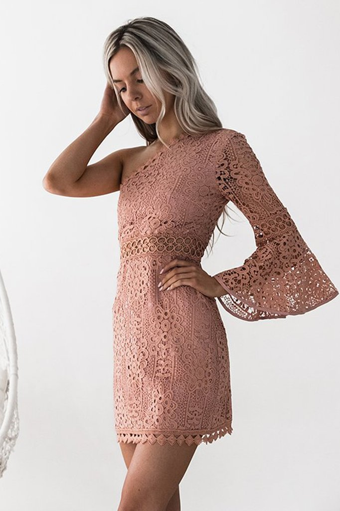 **Elysian Dress (Peach)