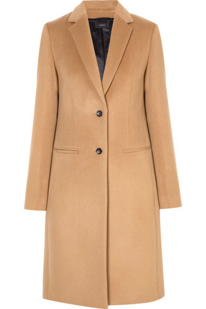 Joseph coat wool camel