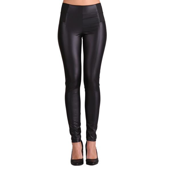 Wicked Faux Leather Leggings | Vanity Row
