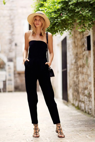 tuula shoes jewels blogger jumpsuit