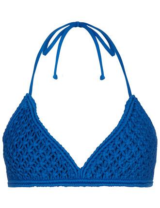 bikini bikini top blue