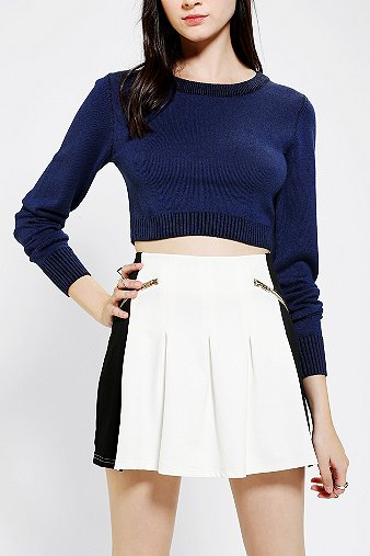 Silence   Noise Ribbed Cropped Pullover Sweater - Urban Outfitters ($49.00)