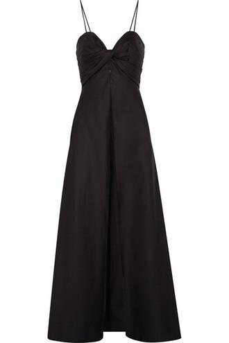 tunic cotton black top