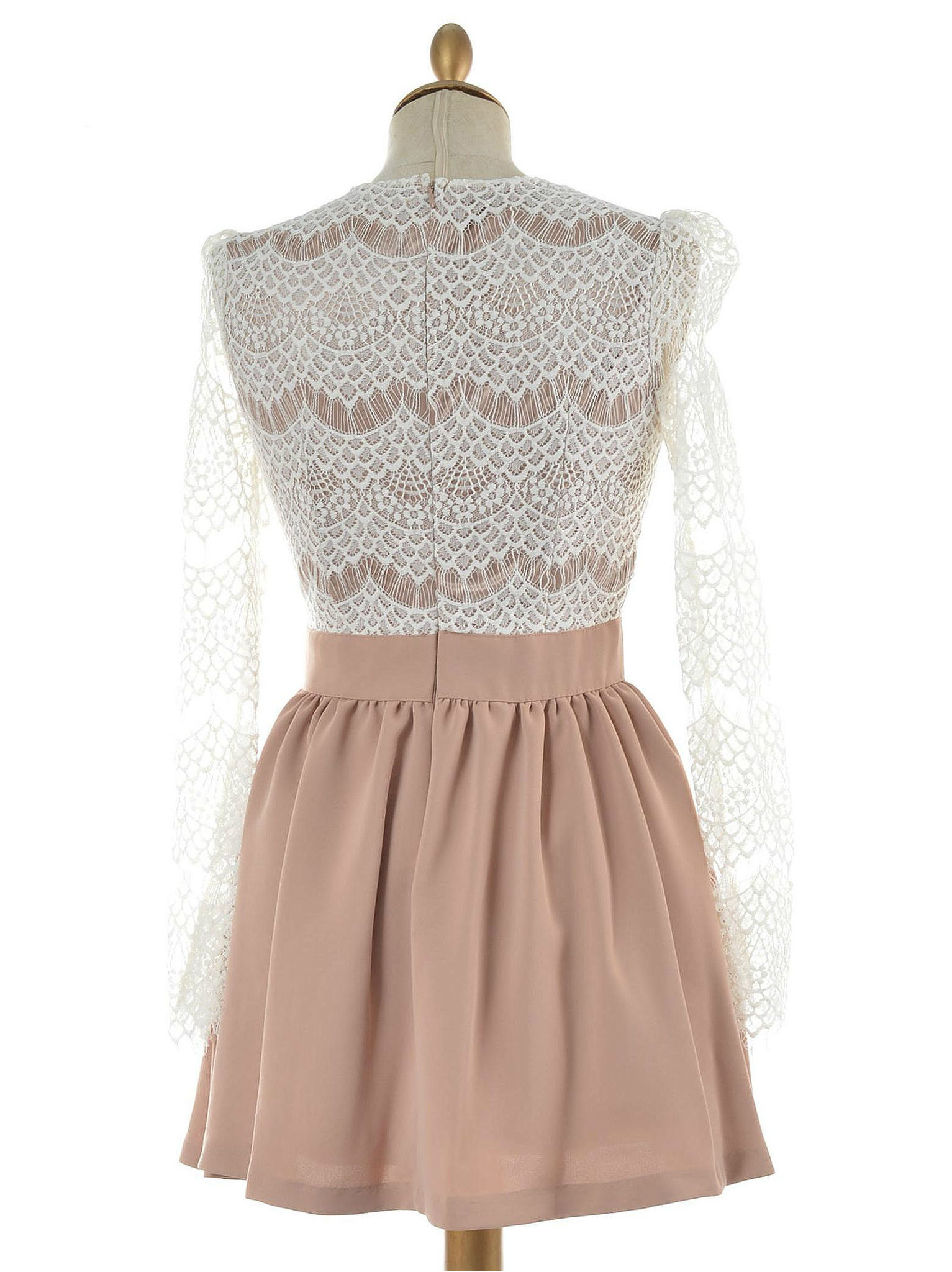 SHADOW LACE DRESS
