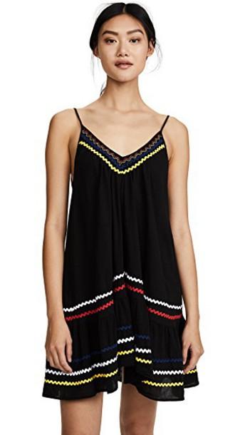 dress mini dress mini ruffle black
