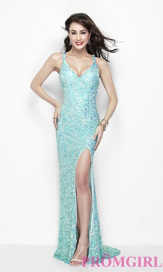 dress evening dress open back beaded prom dress gown glamour