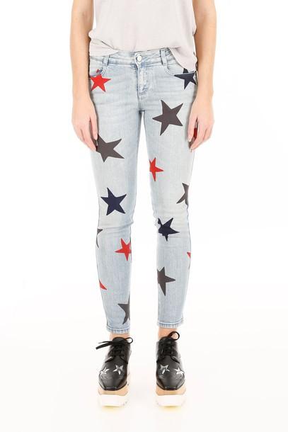 Stella McCartney jeans print classic