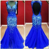 prom,prom dress,mermaid,mermaid prom dress,formal dress,formal,mermaid/trumpet,jeweled,dress,blue dress,sparkly dress,blue rhinestones