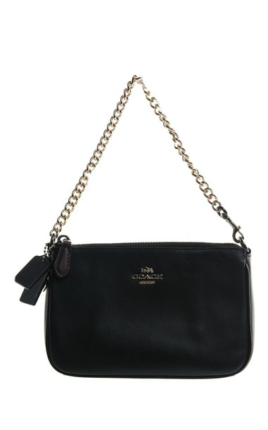 coach pouch leather bag