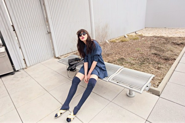 natalie off duty dress sunglasses shoes