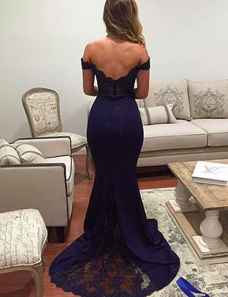 dress mermaid prom dress navy blue bridesmaid dresses off the shoulder bridesmaid dresses