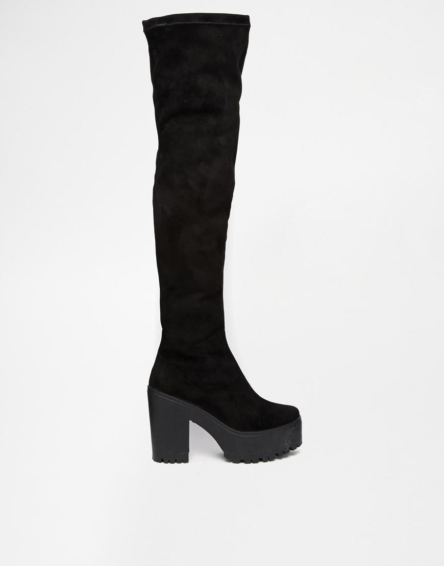 Asos ka ching over the knee boots at asos.com