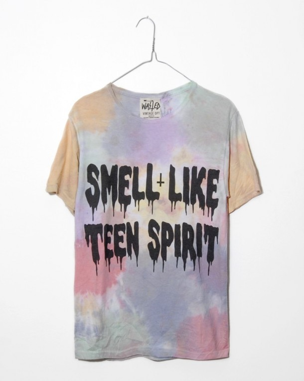Shirt vintage dpt smell like teen spirit