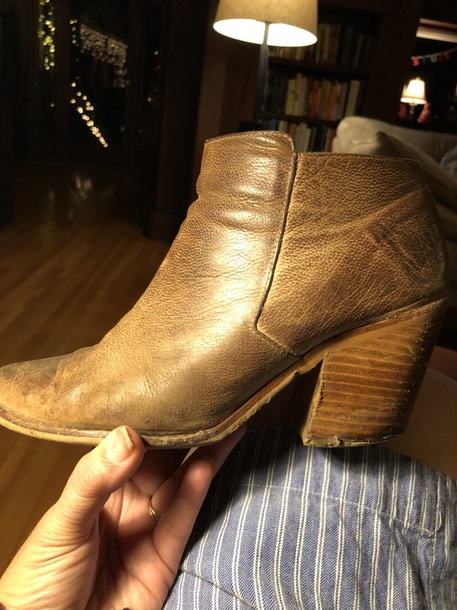 shoes tan ankle boots