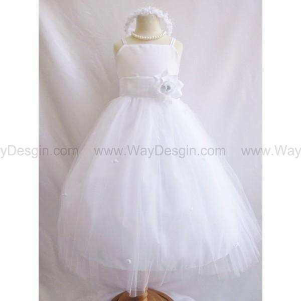 dress white dress white dress flower girl dress white flower girl dress