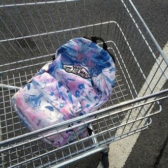 bag vans tie dye