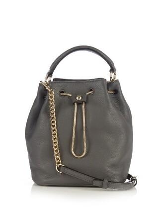 love bag bucket bag grey