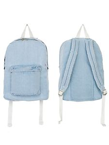 American apparel rsa0508d denim school bag