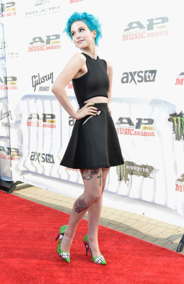 dress top skirt hayley williams