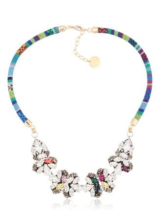 boho bling necklace jewels